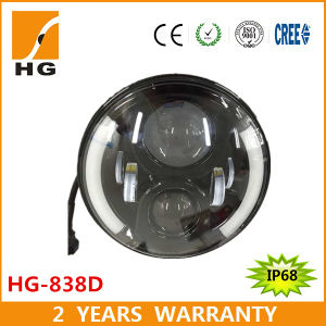 New Product LED Headlight for Jeep Wrangler 7′′ pictures & photos