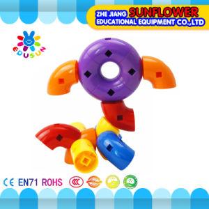 Children Plastic Desktop Toy Inserting Car Building Blocks Desktop Toys pictures & photos