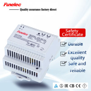 60W DIN Rail Switching Power Supply PSU with Ce RoHS 2 Year Warranty 12V/24V48V pictures & photos