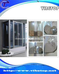 Bathroom Hardware Glass Door Stainless Steel Hinge (DH-01) pictures & photos