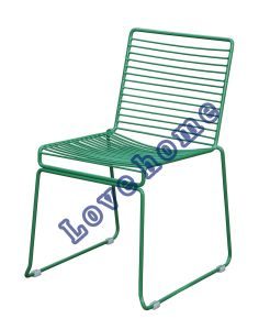 Modern Metal Dining Stackable Side Wire Chair pictures & photos