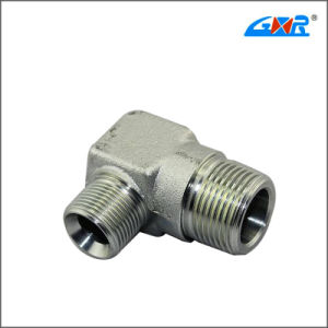 90 Degree Elbow BSPT Male Connector (XC-1T9) pictures & photos