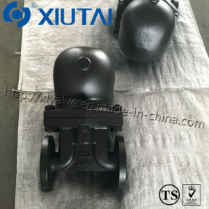 Cast Steel Ball Float Steam Valve Pn40 (Double-Seat) pictures & photos