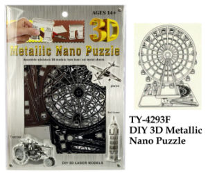 Funny DIY 3D Metallic Nano Puzzle pictures & photos