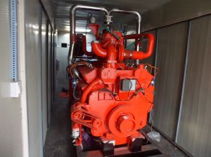 375kVA 300kw Yuchai Natural Gas Generator Biogas Generator pictures & photos