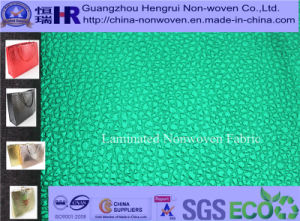 High Grade Laminated Nonwoven Fabric for Promotional Shopping Bag (NO. A10Y001)