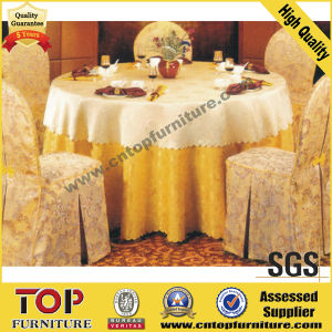 Embroider Banquet Table Cloth and Chair Cover pictures & photos