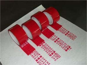 Anti-Tamper Evident Packing Tapes pictures & photos