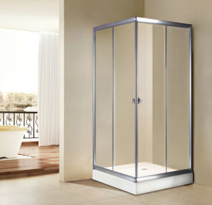 Houshold/Hotel Standard Size Simple Shower Room pictures & photos