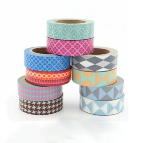 Colorful Printed Washi Masking Tape pictures & photos