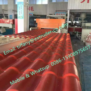 PVC PP PE PC Coating Synthetic Resin Roofing Tiles pictures & photos