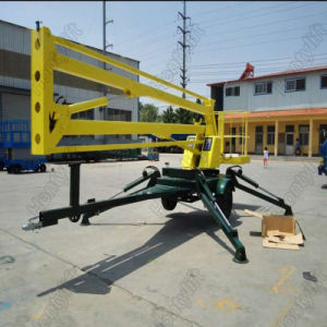 Portable Towable Hydraulc Trailer Boom Lift Table pictures & photos