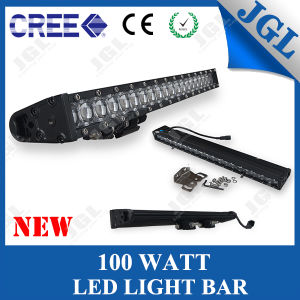 100W Powerful Car LED Light Bar Offroad with 4D Lense