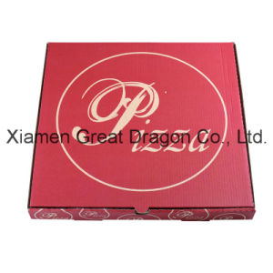 Locking Corners Pizza Box for Stability and Durability (PB160611) pictures & photos