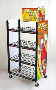 Supermarket Shelf Wine Store Display Metal Exhibition Stand with Ce (GDS-086) pictures & photos