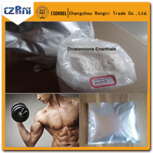 Bodybuilding Steroids Raw Powder Drostanolone Enanthate for Pharmaceutical Chemical pictures & photos