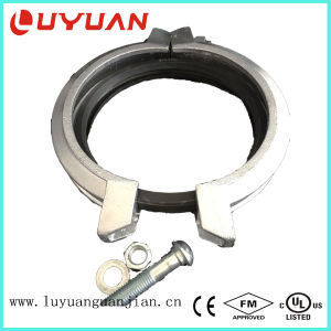 Shoulder Flexible Coupling with Ductile Iron ASTM a 536 Material pictures & photos