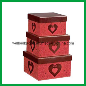 Gift Box (three size) / Paper Box / Packaging Box /Candy Box for Promotional Gift pictures & photos