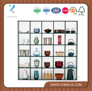Check Storage Rack Display Cubes Exhibition Shelves for Home Use pictures & photos