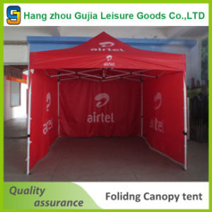 Outdoor 3X3m Pop up Folding Tent with Custom Printing