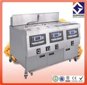High Quality Stainless Steel Open Fryer/Industrial Electric Open Fryer/America Market Automatic Kfc Gas Chicken Open Fryer pictures & photos