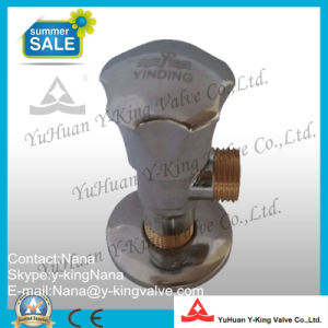 Zinc Handle Toilet Angle Valve (YD-I5028) pictures & photos