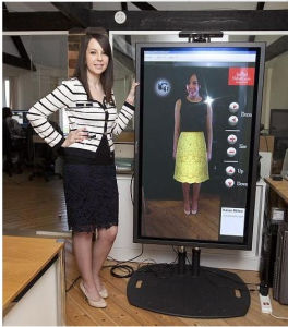 65inch LCD Display for Dressing pictures & photos