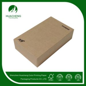 Simple Style Box Kraft Paper Packing for Mobile Phone (HC0336)