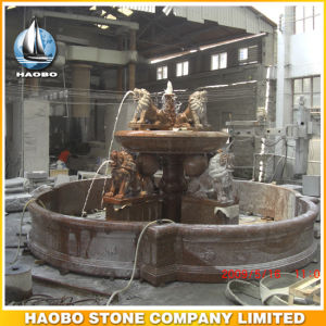 Outdoor and Indoor Large Water Fountain Hand Crafted Lions pictures & photos