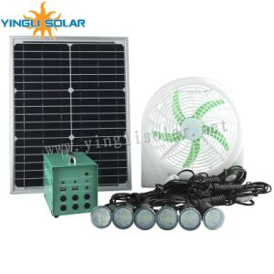 6PCS Solar LED Lantern, 6m Cable for Family, Shop, Hotel, School pictures & photos