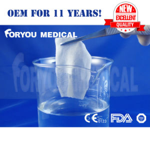 2016 Top Premium Health Care Product Surgical Soluble Absorbable Hemostatic Gauze Dressing with FDA 510k pictures & photos