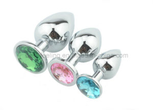 Anal Plug Crystal Jewelry Sex Toys for Anal Sex pictures & photos