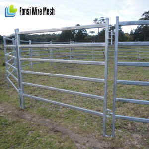 115X47mm Oval Tube Cattle Corral Panel pictures & photos
