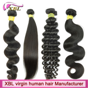 Xbl Human Hair Factory Different Hair Weave Styles pictures & photos