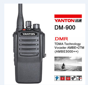 5/2/1watts Power Selection 256channel VHF UHF Digital Radio (YANTON DM-900)