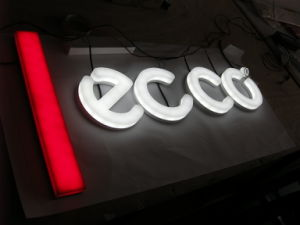 Acrylic Channel Letter with Super Bright LED pictures & photos