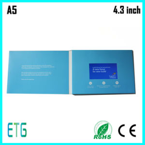 LCD Screen Video Player Electronic Business Cards pictures & photos