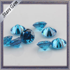 Star Twinkling Swiss Blue Brilliant Cut Favorable Price CZ pictures & photos