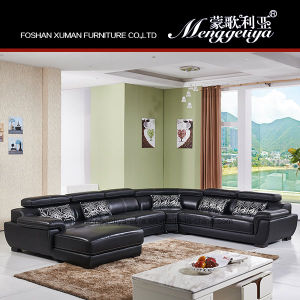 High Quality Sectional Genuine Leather Sofa (999#)