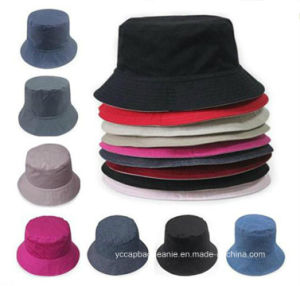 Colorful Cotton Pure Hunting Cheap Summer Bucket Hats pictures & photos