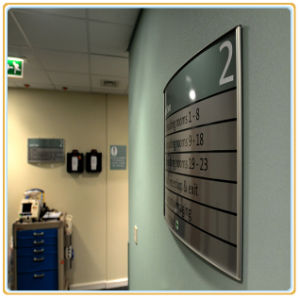 Office Information Display Board/Wall Display Plate pictures & photos