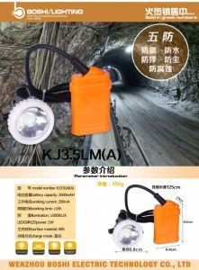CREE LED Cordless Mining Cap Lamp Headlamp Kj3 pictures & photos