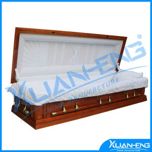 European Style Whoseale Cheap Wood Coffin pictures & photos