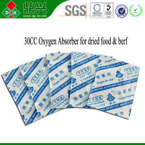 Iron Free Oxygen Absorbent Pads for Meat