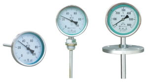 Factory Sales Bimetal Thermometer for Gas and Liquid