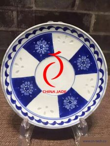 China Blue and White Blue and White Porcelain Plate
