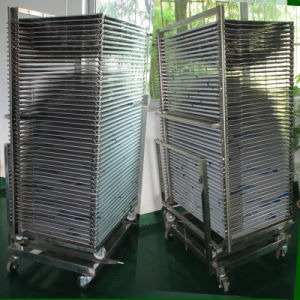TM-50ds SUS304 Stainless Drying Rack Trolley pictures & photos