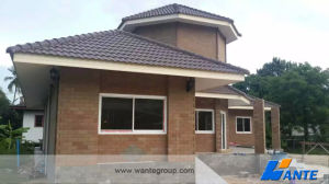 Stone Coated Steel Roofing Tile, Double Roman Roof Tiles Size pictures & photos