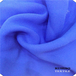 100% Polyester Habijabi Chiffon Fabric Suitable for Garments (RHFZ-0310)