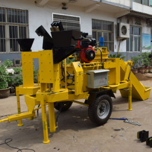 Twin Moulds Automatic Hydraulic Interlocking Clay Brick Machine (M7MI) pictures & photos